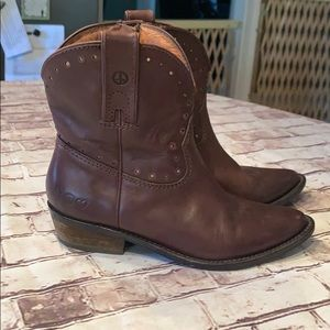 Lucky Brand leather cowboy boots 7 37